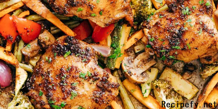 How To Make Simple Sheet Chicken Dinner At Home